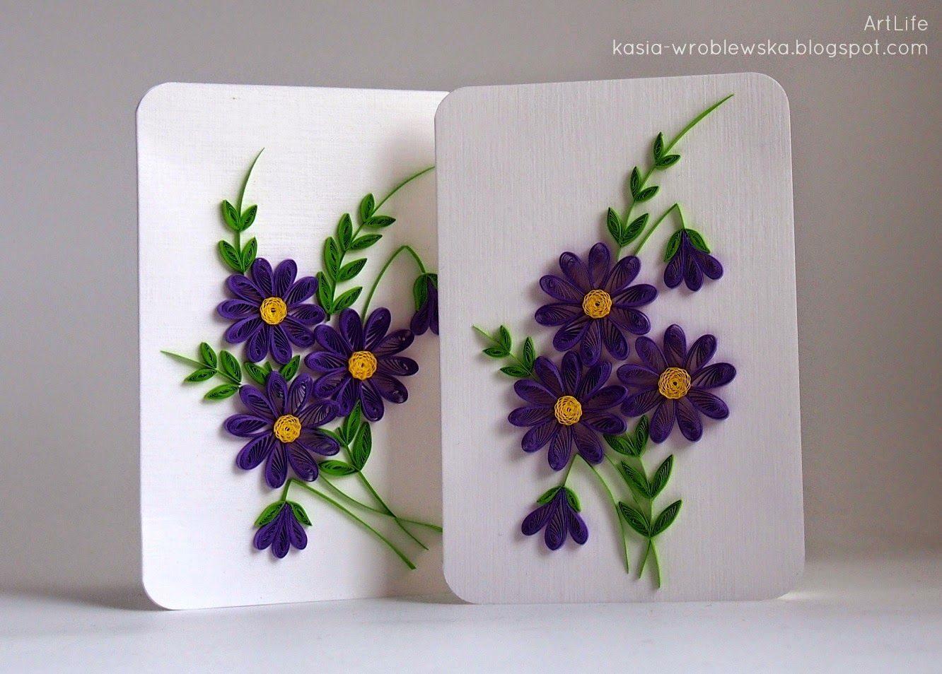 Artlife Spring Flowers Quilling Designs Paper Quilling