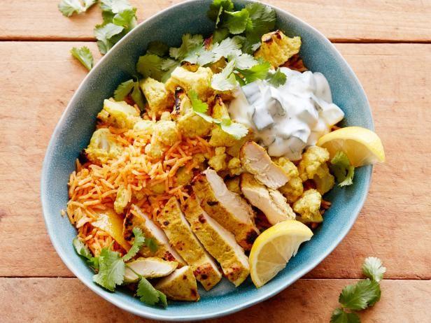 Tandoori Chicken And Cauliflower Rice Bowl Recipe Summer Dinner