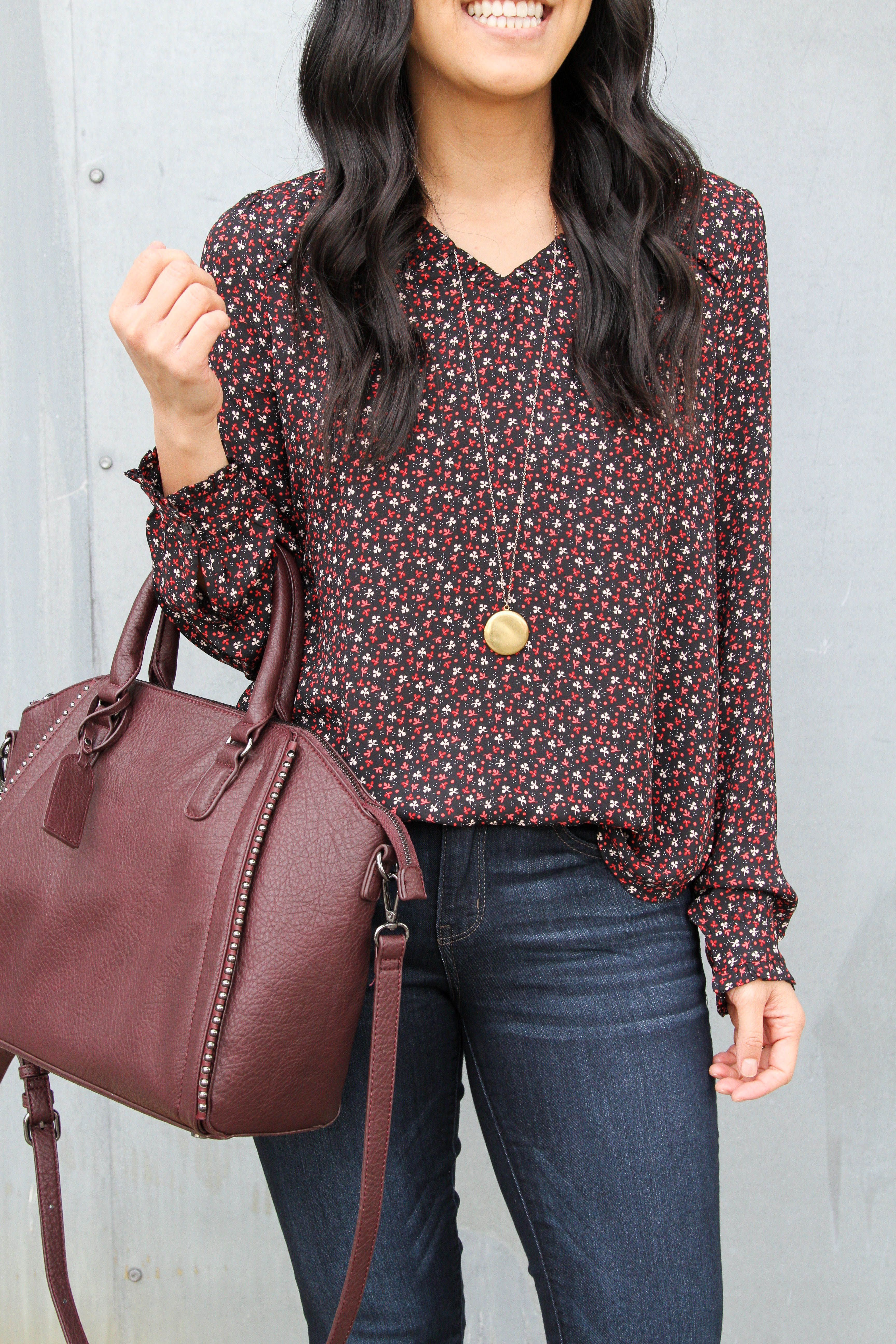 382bce3f1da96 6 Outfits With a Printed Top for Work, Polished Casual Outfits ...