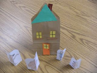 Art and craft to make a house