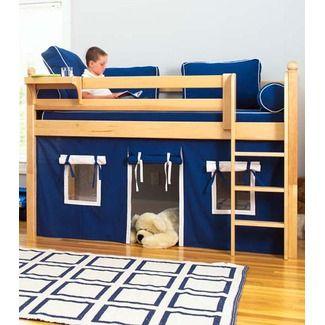 Bed Curtain Boys Loft Beds Kids Loft Low Loft Beds