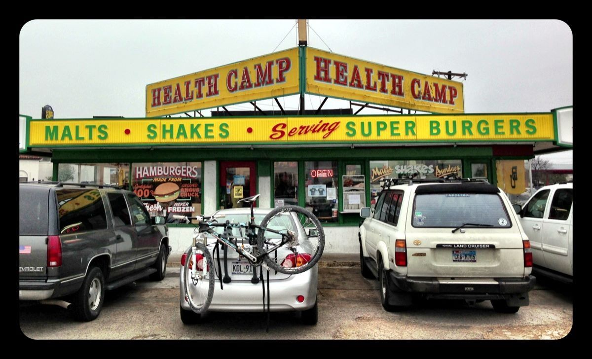 Health Camp at the circle on Lasalle and Valley Mills. Add it to your #Baylor bucketlist!