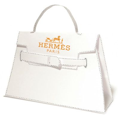 Luxe DIY: A Paper Hermes Kelly Bag To Call Your Own | バッグ
