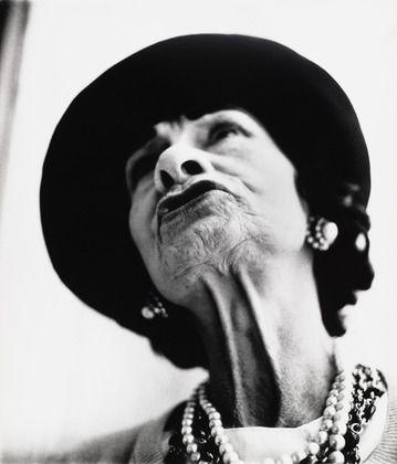 Gabrielle Chanel, couturière, Paris  Richard Avedon (American, 1923-2004)