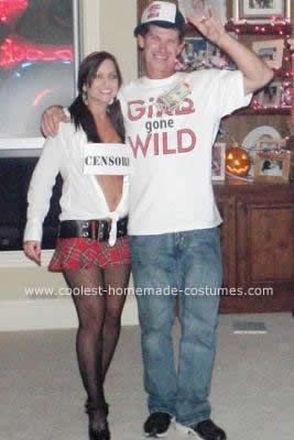 Homemade Girls Gone Wild Girl and Film Crew Couple Costume We got so many people & Coolest Girls Gone Wild Girl and Film Crew Couple Costume | Wild ...