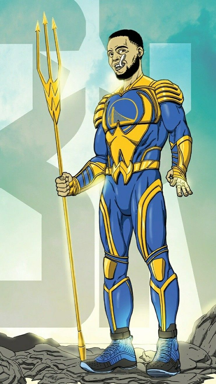 Stephen Curry As Aqua Man Jibril Curry