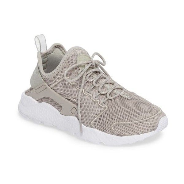 official photos 7c47f ba9ef Women s Nike  Air Huarache Run Ultra Mesh  Sneaker ( 120) ❤ liked on Polyvore  featuring shoes, ghost green, light weight shoes, mesh shoes, nike shoes,  ...