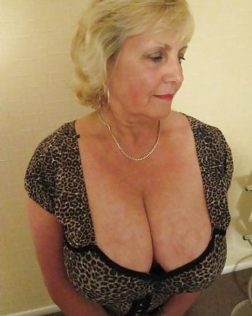 old women with large breasts