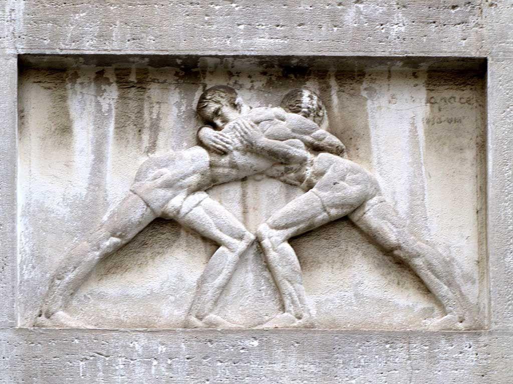 Roman Bas Relief