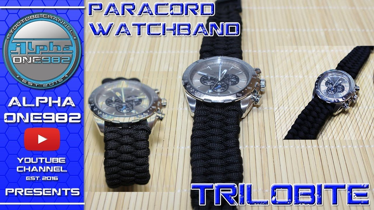 How To Make Elegant Paracord Watch Band With Buckle Paracord