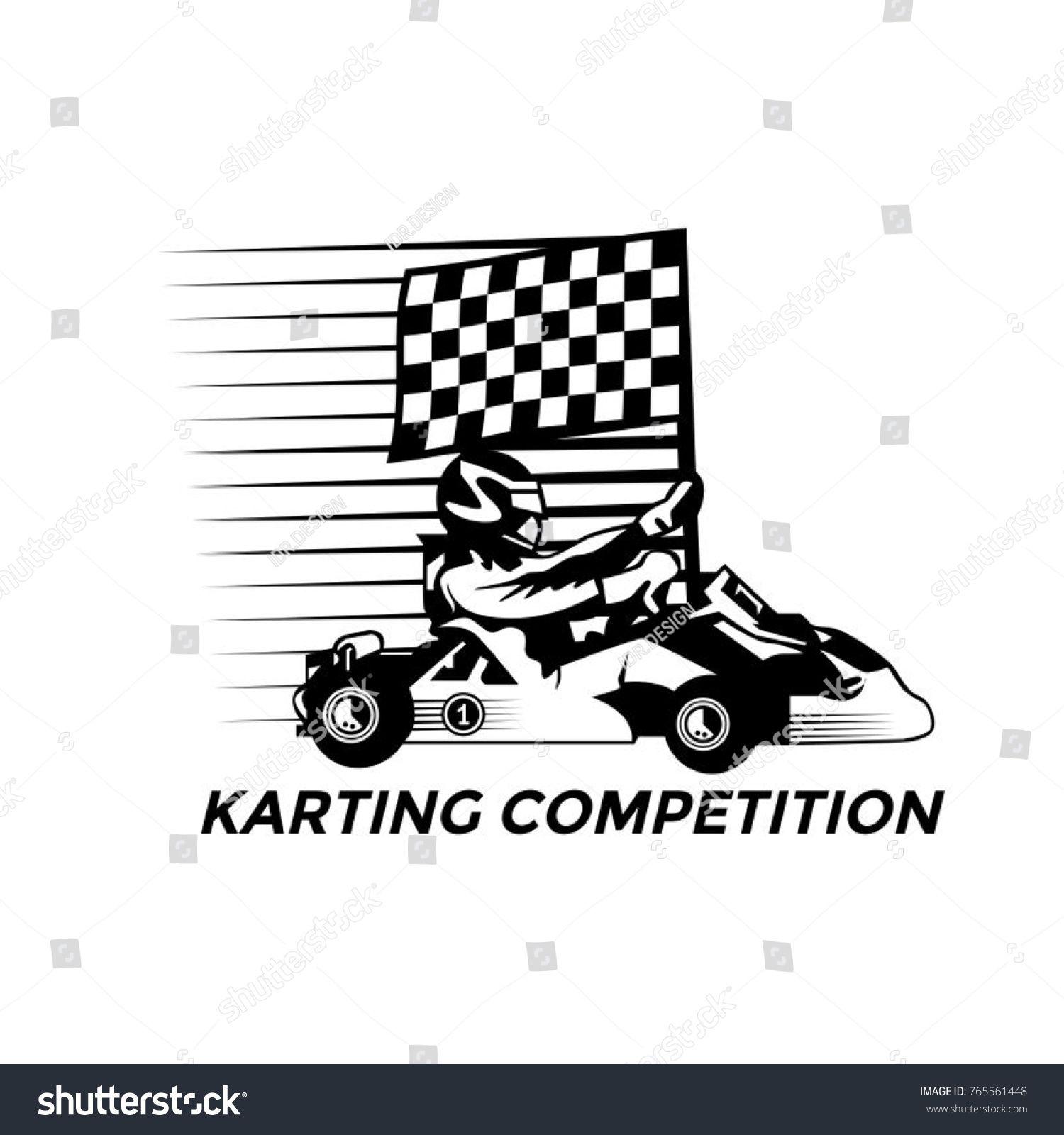 Gokart Karting Logo Design Go Kart Karting Logo Design