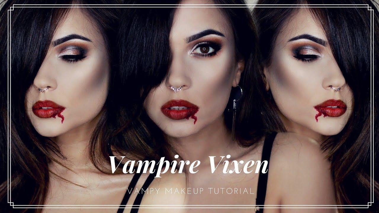 Halloween vampire vixen makeup tutorial all primark makeup halloween vampire vixen makeup tutorial all primark makeup themakeup baditri Image collections