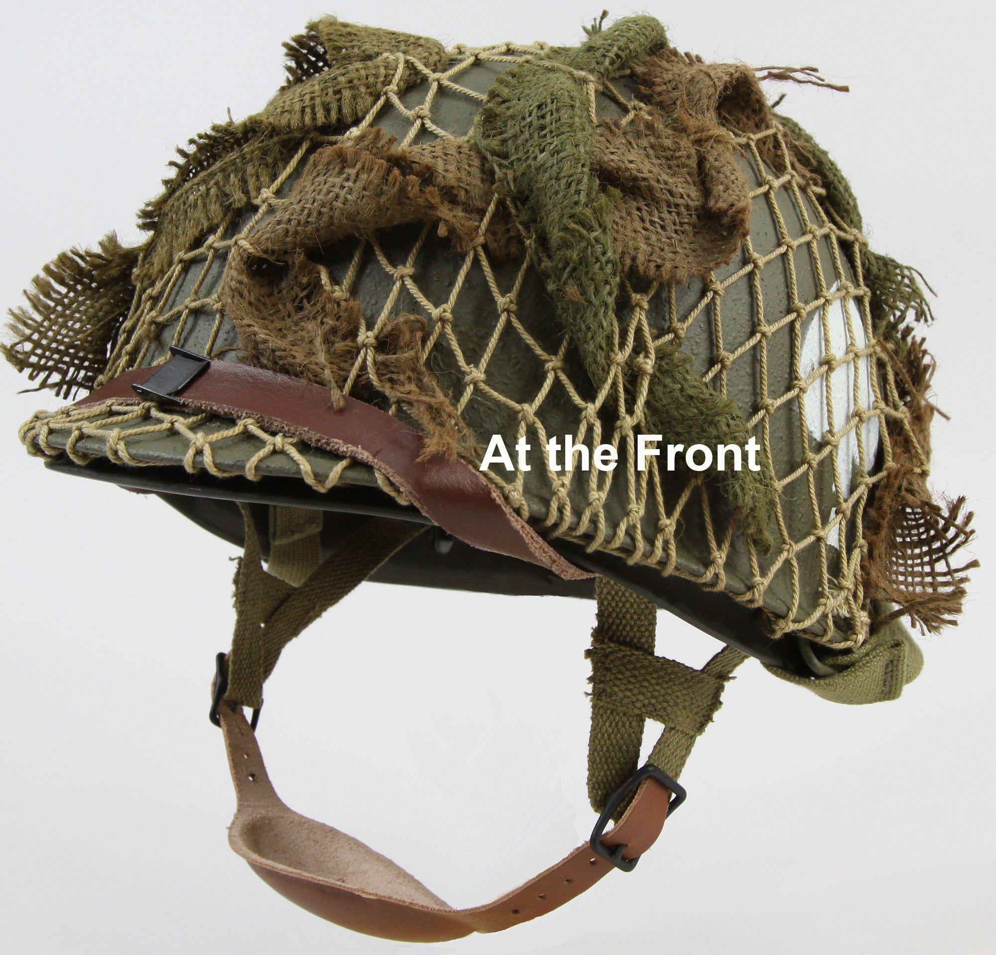 Reproduction 506th Paratrooper Helmet | War History | Army helmet
