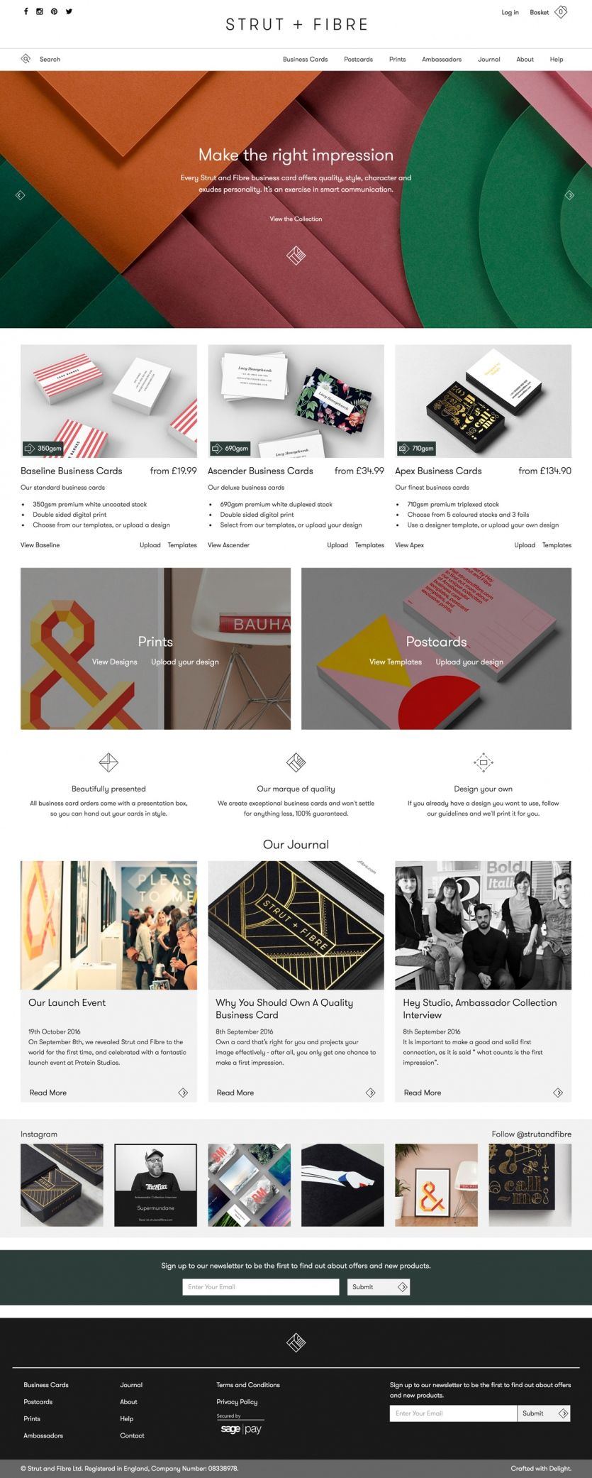 strut and fibre website pinterest web design web design rh pinterest com