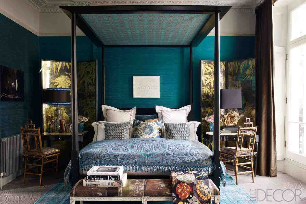 Exceptionnel Dark Teal Bedroom Ideas