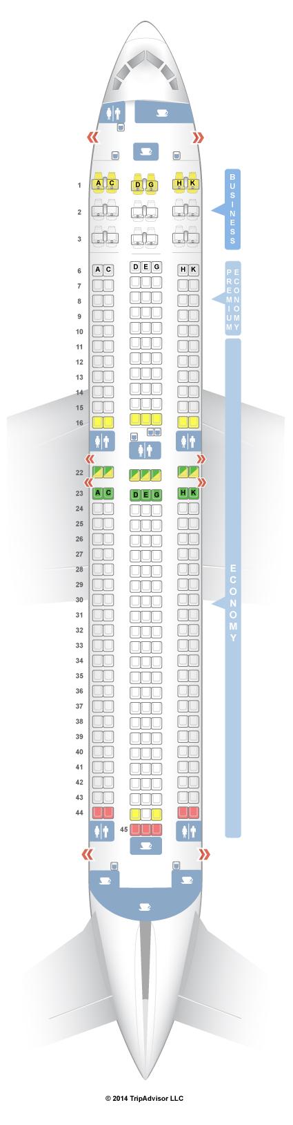 Seatguru seat map condor boeing er  air canada flights also best images commercial aircraft ride aviation rh pinterest