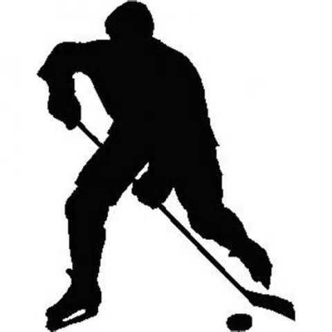 Hockey Players Silhouettes Yahoo Search Results Hockey Players Hockey Crafts Silhouette