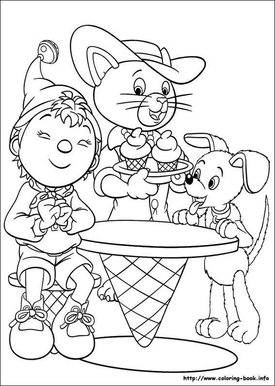 Noddy Coloring Picture Coloring Pages Coloring Pictures Coloring Books