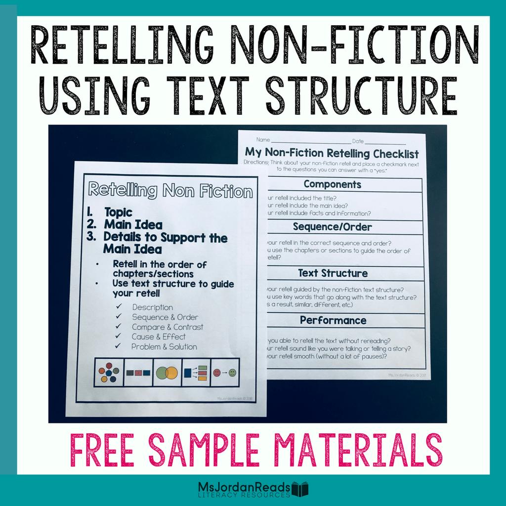 Retelling Non Fiction Using Text Structure