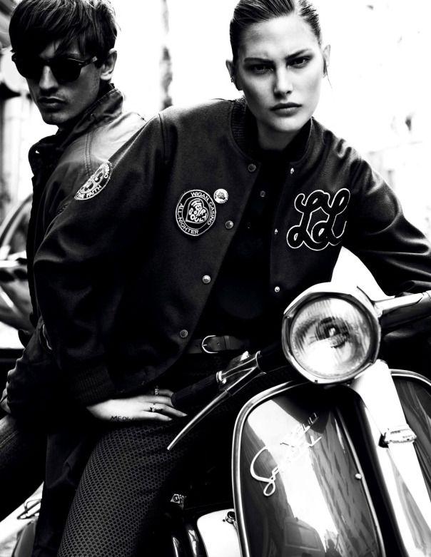Catherine McNeil by Claudia Knoepfel & Stefan Indlekofer for Vogue Paris August 2013