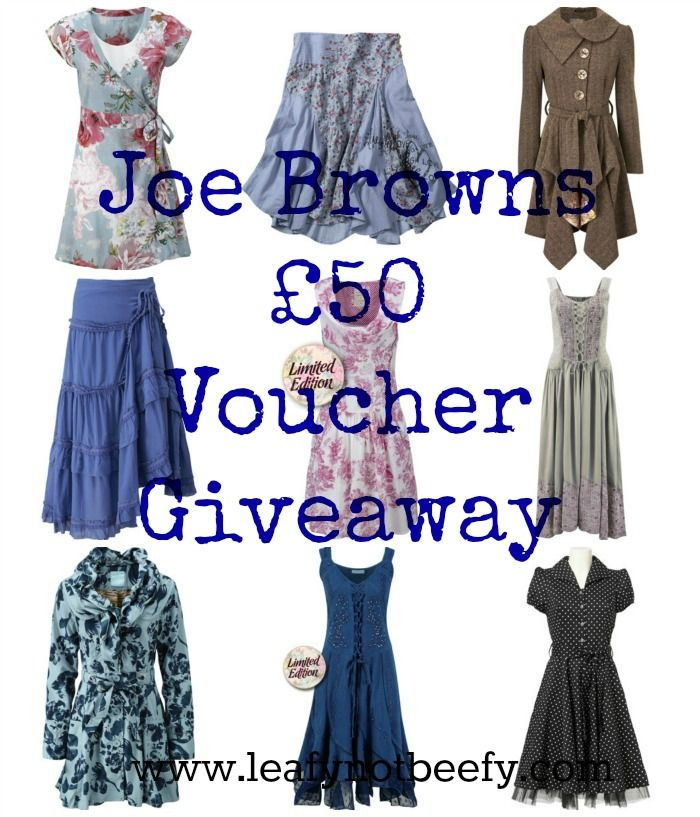 Joe Browns Giveaway - Leafy Not Beefy | My Style | Giveaway