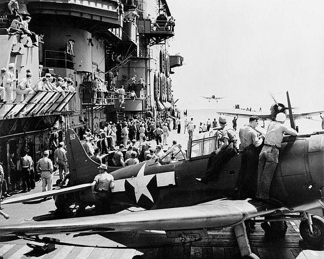 USS Saratoga 1943   Flickr - Photo Sharing!
