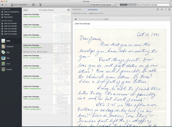 Going Paperless: Digitizing Old Letters via scanning and
