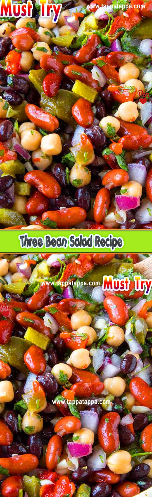 Three Bean Salad Recipe In 2020 Bean Salad Recipes Salad Recipes Uk Recipes