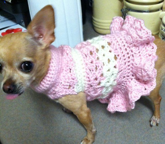 Pdf Crochet Pattern Littlest Bo Peep Dog Dress Instant Download