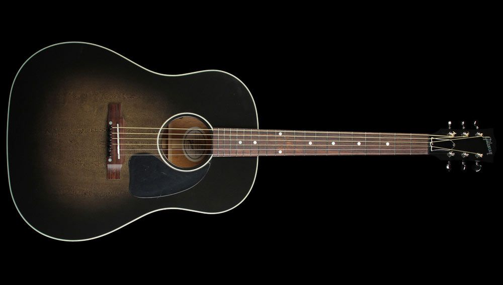 Gibson J45 Limited Acoustic Electric Guitar Cobra Burst Used The Music Zoo Acoustic Electric Guitar Gibson Acoustic