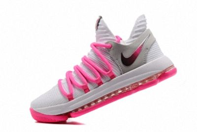 b8b1f47d7fdb Advanced Design Nike Zoom KD 10 EP White Baby Pink 897816 200 Kevin Durant  Mens Basketball