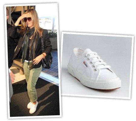 Superga, Superga sneakers, Jennifer aniston