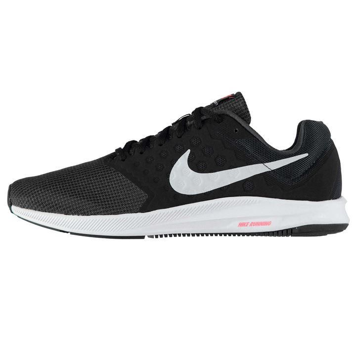 Nike Downshifter 7 Trainers Mens | synthetic overlays | mesh upper