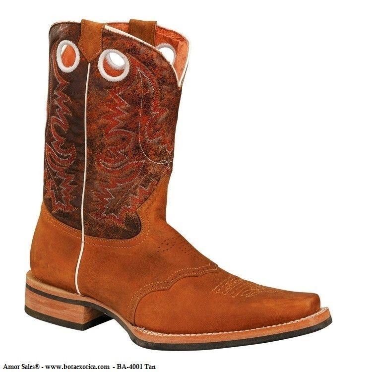 0059b00f51 BA-4001 - Botas Vaqueras Rodeo para Hombre