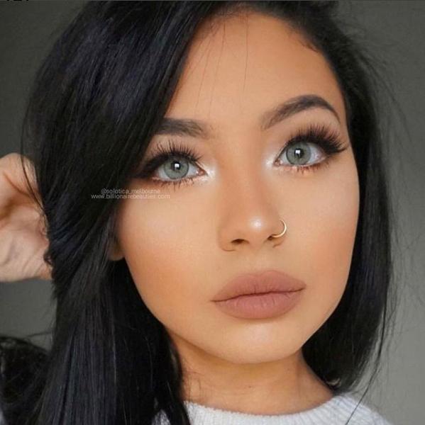 Lovely Miss Brown Eyes