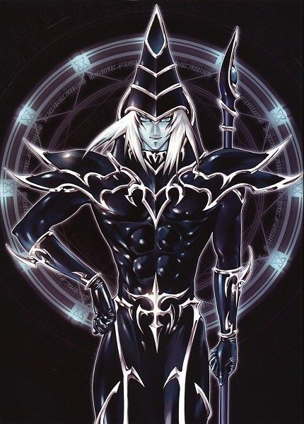 Yu-Gi-Oh! - Dark Magician i got a real ygo card like this i got with a copy of sj mail order i need the yami dm and il have all of them