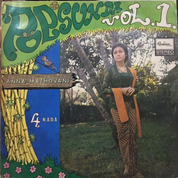 Anna Mathovani, Band 4 Nada - Pop Sunda Vol  1 (Vinyl, LP, Album) at