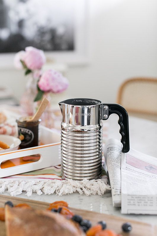see mornings in a new light with @NespressoUSA's new milk frother. #NespressoMorning #ad / sfgirlbybay