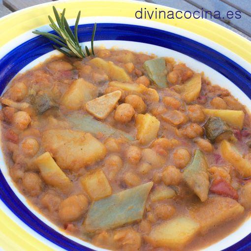 alubias vegetarianas divina cocinarecetas fciles cocina andaluza y del mundo divina cocina - Divina Cocina