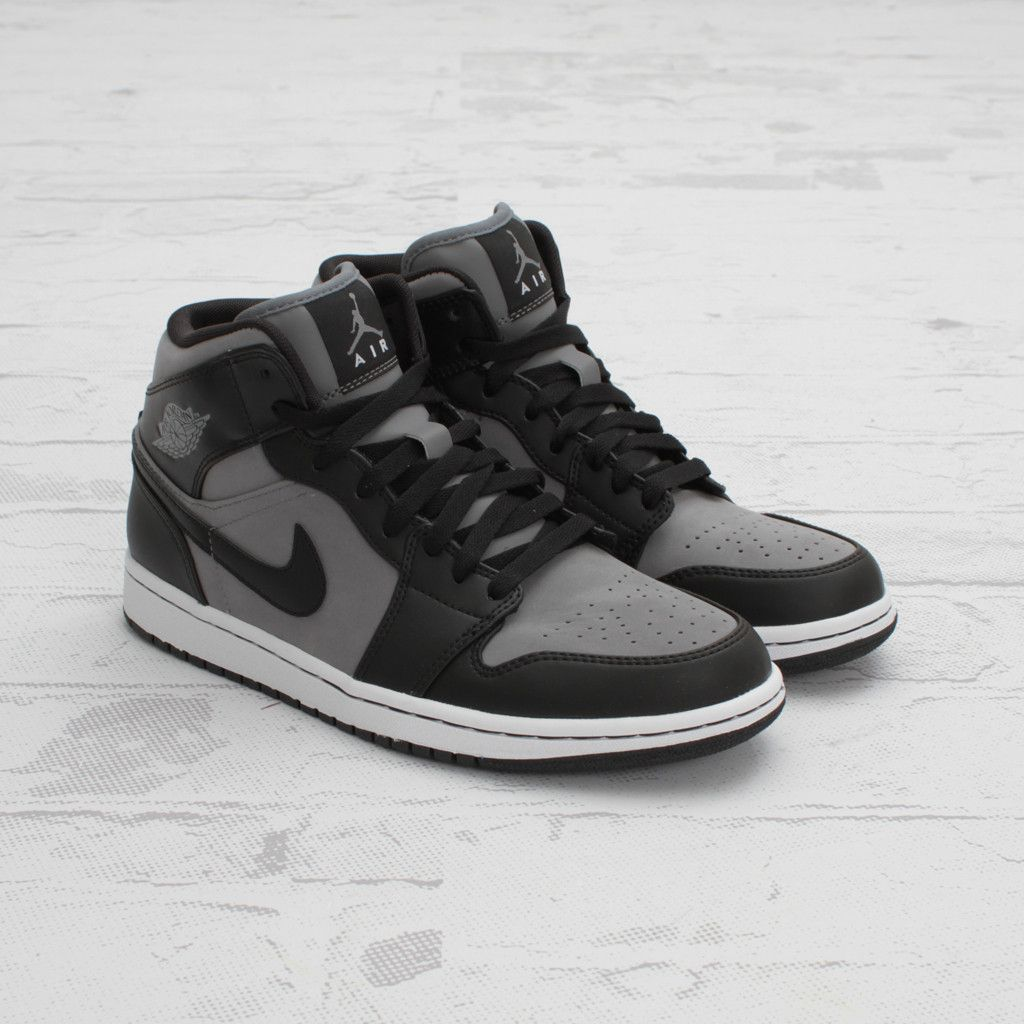 Air Jordan 1 Phat Cool Grey And Black