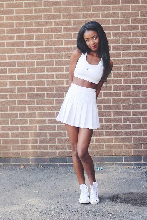 Clothes Tennis Skirt Outfit Fashion Tennis Fashion