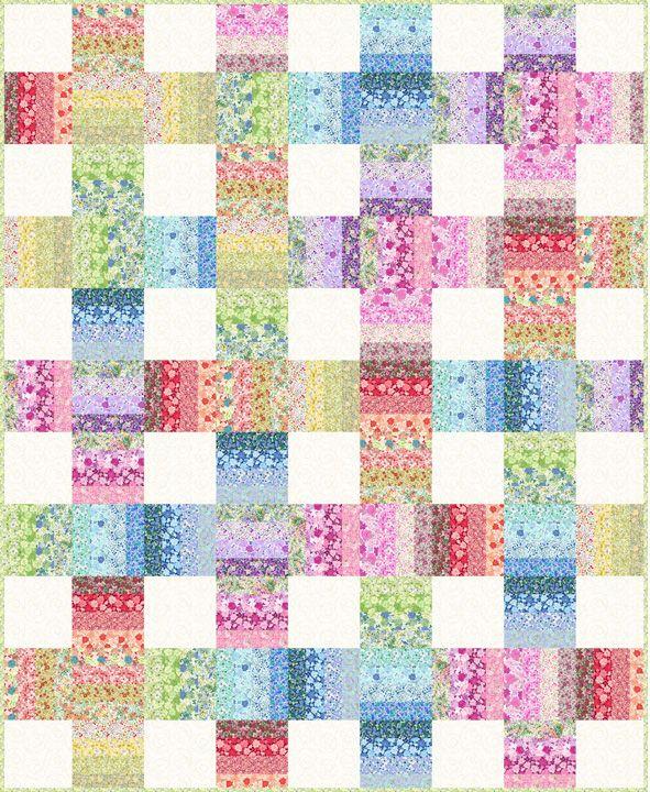 Garden Fresh Quilts Booklet - Jason Yenter - In The Beginning