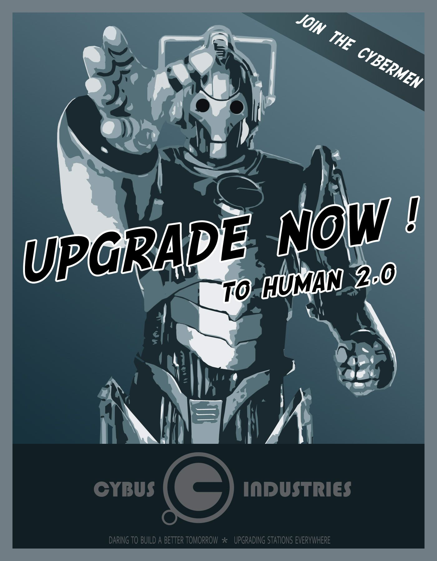 Online dating doctor who meme cybermen