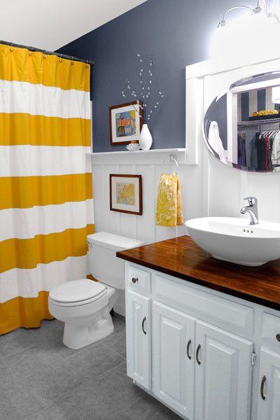 23 Savvy and Inspiring Small Bath Designs Cottage bath Bath and