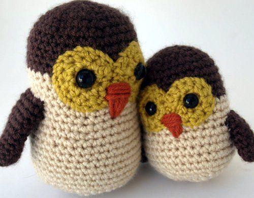 Adorable owls at Crunchy Congo!