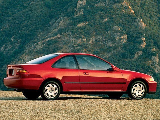 1993 Honda Civic I Had A Black One 5 Sd Great Mpg No C Drove It Until The Doors Fell Off