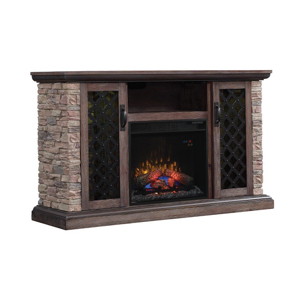 Faux Stone Tv Stand With Fireplace 60 Inch Captain Fireplace
