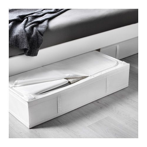 SKUBB Storage case, white white 36 ½x21 ¾x7 ½