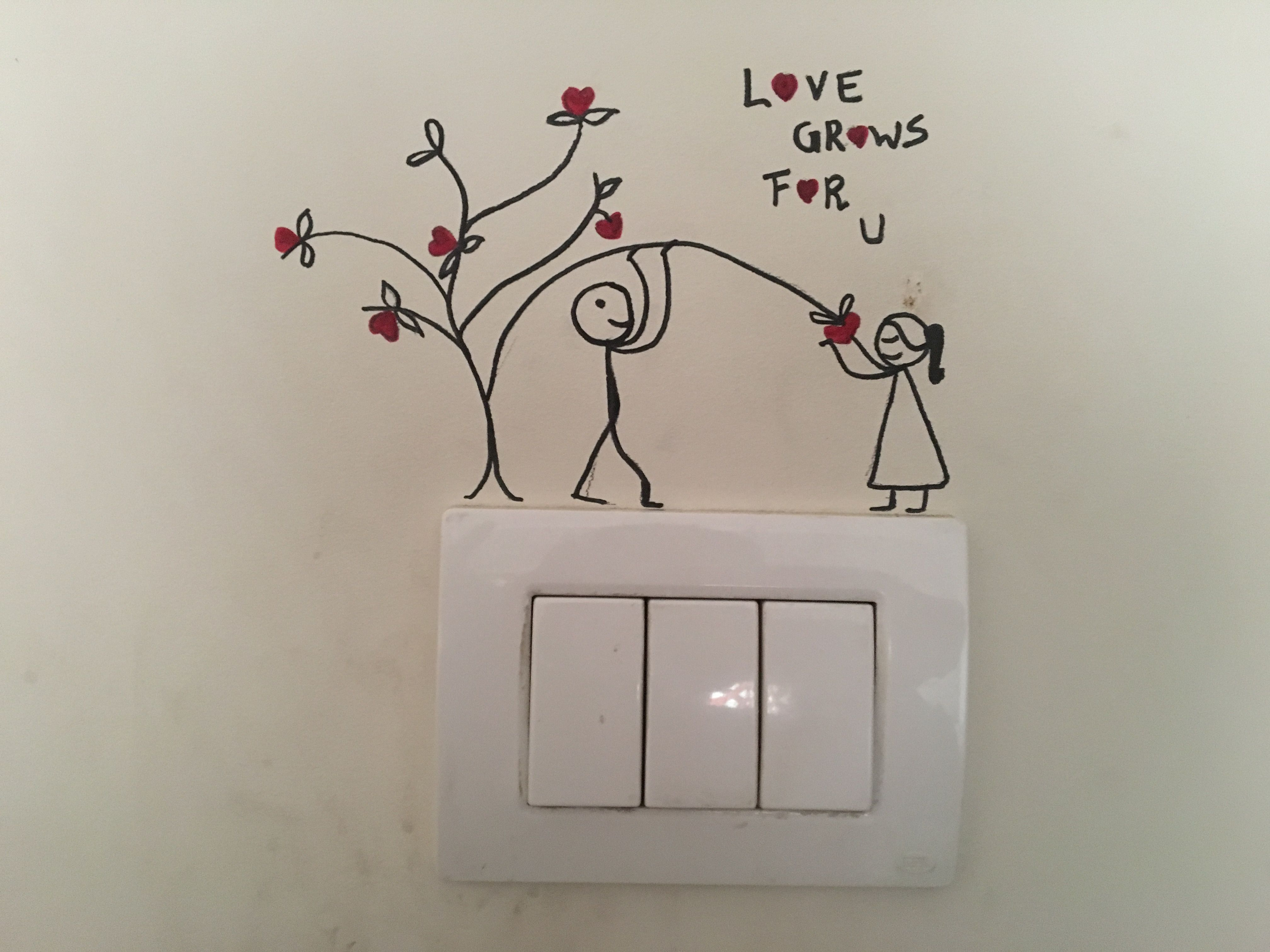Wall Switchboard Art Diy Wall Painting Wall Paint Designs