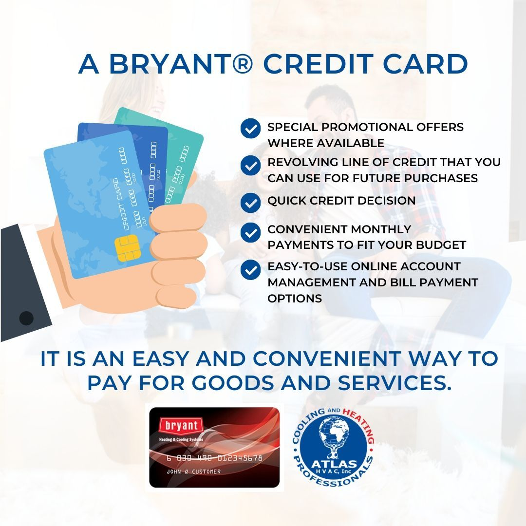 A Bryant Credit Card It Is An Easy And Convenient Way To Pay For